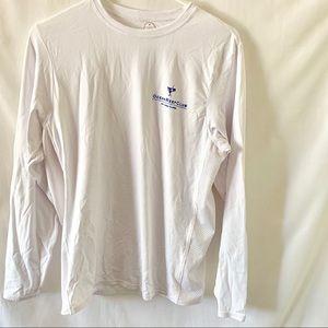 Men's White ORC UPF Rashguard Small Fishing Shirt